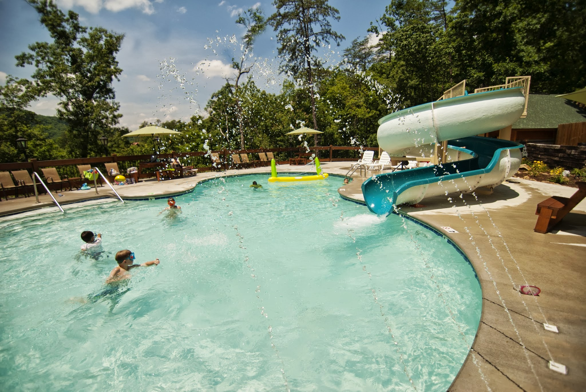 cabins large with lodge trail rentals pool rental indoor gatlinburg bear cabin by