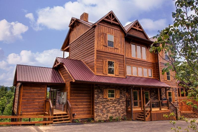 Parkside resort cabins for Cooper s cabin park city